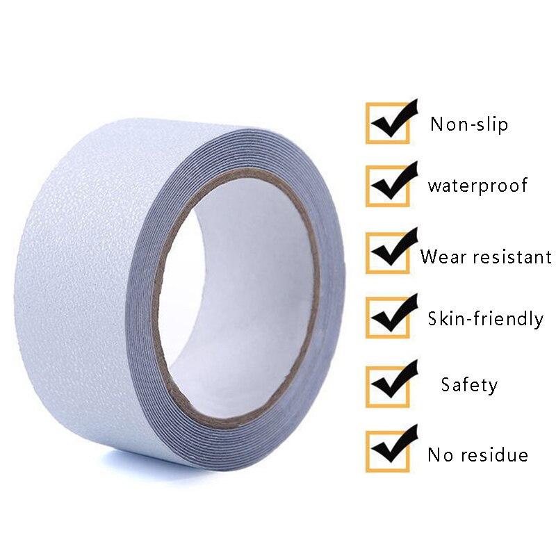 5 mt Anti-Slip PEVA Gummi Bänder DIY Bad Anti Rutsch Aufkleber Warnung Streifen Notfall Linien Nicht-slip treppen Aufkleber Band P20