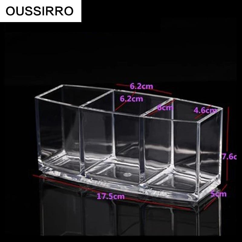 RSCHEF 3 lizdų ekranas laikykite skaidrų akrilo laikymo dėžutę - Organizavimas ir saugojimas namuose - Nuotrauka 5