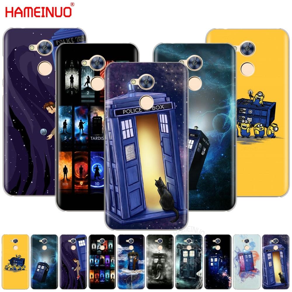 HAMEINUO Tardis Box Doctor Who Cover phone Case for Huawei Honor V10 4A 5A 6A 7A 6C 6X 7X 8 9 NOVA 2 2S PLUS LITE