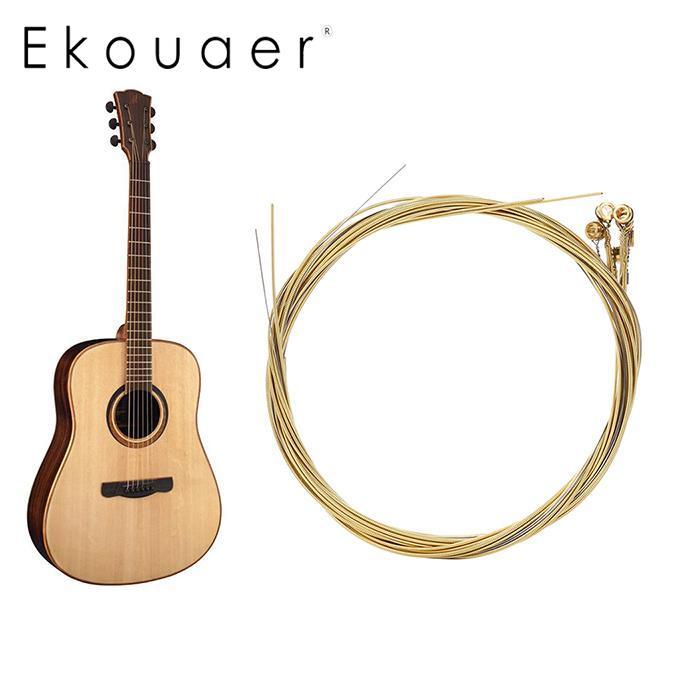 2018 newest acoustic guitar 1 pcs steel strings gauge set guitar guitar strings brass color in. Black Bedroom Furniture Sets. Home Design Ideas
