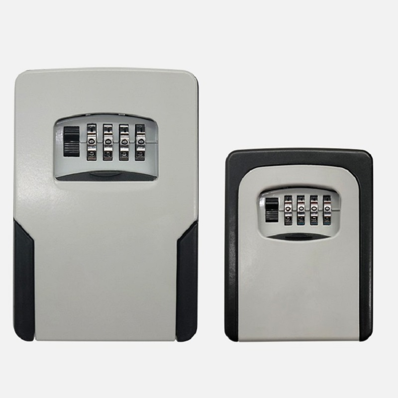 Big Size Wall Mounted Key Storage Organizer Boxes With 4 Digit Combination Lock Spare Keys Organizer Boxes Metal Secret Safe Box