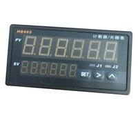 CALT Intelligent speed counter HB965 6 digital display for length measuring instrument encoder 4 20mA output RS485