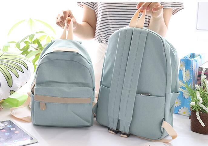 HTB1tNlVUr2pK1RjSZFsq6yNlXXag 2019 Women Canvas Backpacks Ladies Shoulder School Bag Backpack Rucksack for Girls Travel Fashion Bag Bolsas Mochilas Sac A Dos