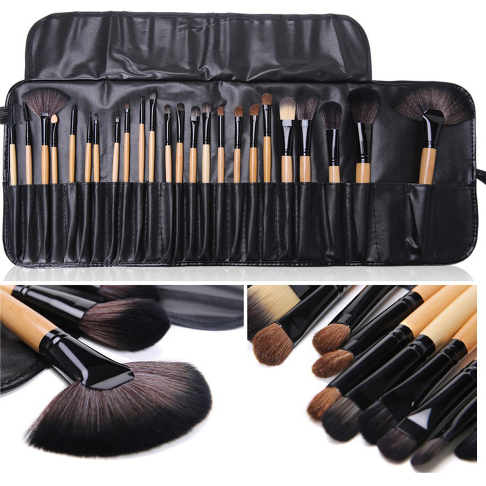 24 pcs Professional beauty makeup brush set brand Makeup Cosmetic Tools fashion font b Toiletry b