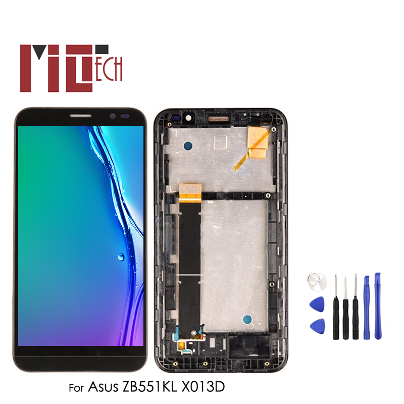 LCD <font><b>Display</b></font> For Asus ZenFone Go TV <font><b>ZB551KL</b></font> X013D X013DB X013DC Touch Screen Digitizer with Frame Full Assembly 5.5'' image
