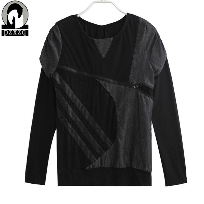 Јесен Т схирт мајица Секи чипка - Женска одећа - Фотографија 5