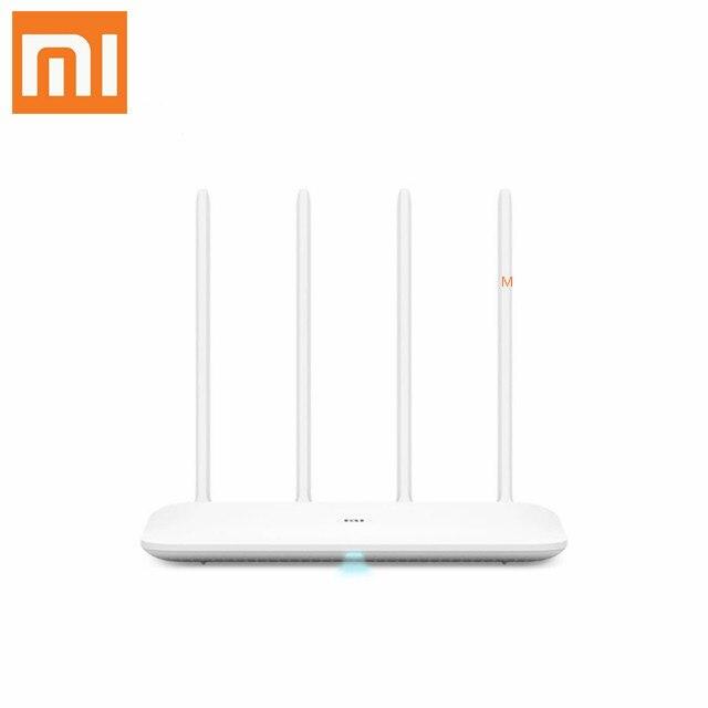 Routeur d'origine xiaomi mi 4 sans fil 1167 Mbps double bande 5 GHz Wi-Fi 802.11 ac quatre antennes double coeur xiaomi wifi routeur