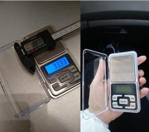 Image 5 - 100/200/300/ 500g x 0.01g/0.1g Mini Digital Pocket Bilancia Per Oro gioielli in Argento Sterling Bilancia s Balance Gram Elettronico Bilancia s