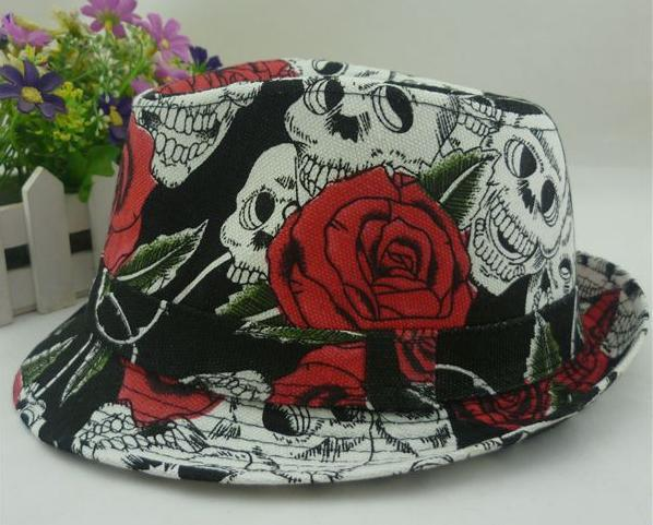 8114c1c67e017 Discount for cheap skull fedora and get free shipping - e6iikklm