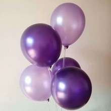 Baloons purple 50pcs/lot12 inch 3.2g latex light balloons birthday party decorations adult globos decoration anniversaire