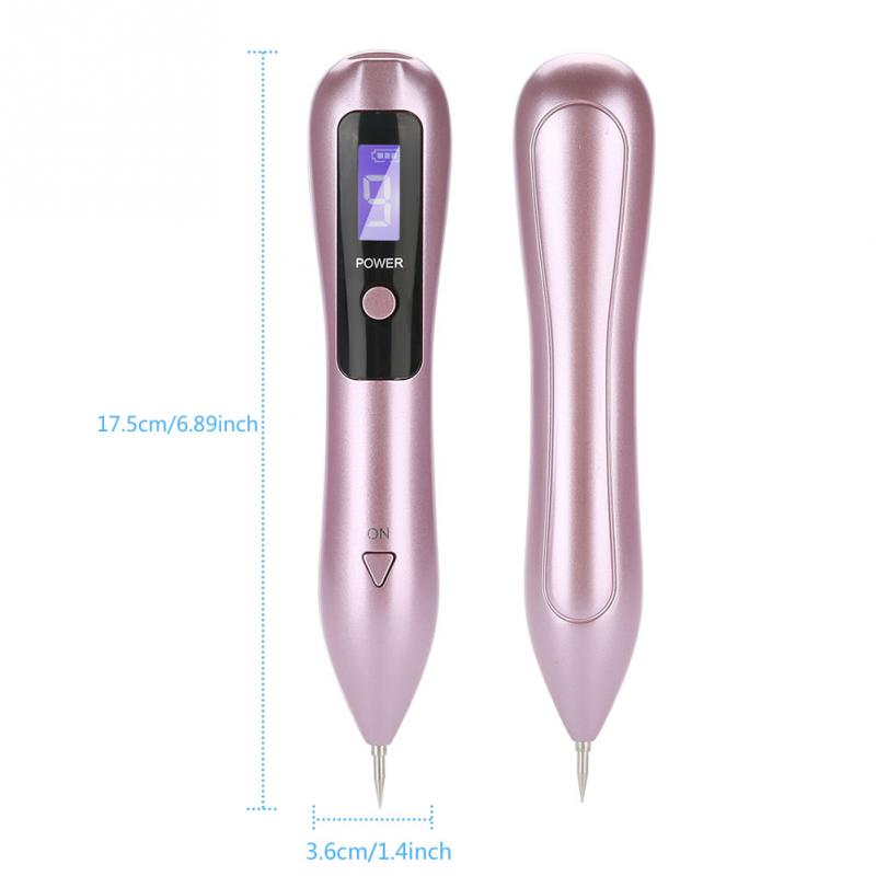 Image 5 - 9 level LCD Face Skin Dark Spot Remover Mole Tattoo Removal Laser Plasma Pen Machine Facial Freckle Tag Wart Removal Beauty Care-in Face Skin Care Tools from Beauty & Health