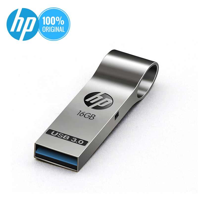 Droshipping HP USB Flash 16GB 32 GB 64 GB 128 GB მეხსიერება Stick Pendrive Original Metal USB Flash Driver წვრილმანი მულტფილმის კალამი დრაივი