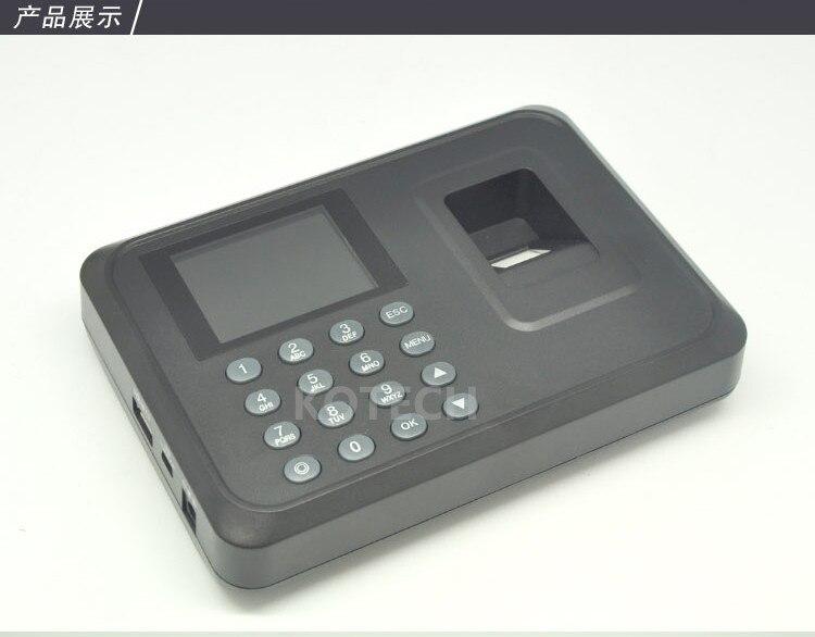 ФОТО Free Shipping! A5 2.4 inch Color TFT Screen Biometric Fingerprint Time Attendance USB Communication Office Time Attendance Clock