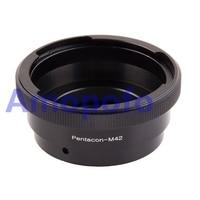 Amopofo P60 M42 Adapter Pentacon 6 Kiev 60 Lens to M42 Screw mount Adapter Pentacon M42