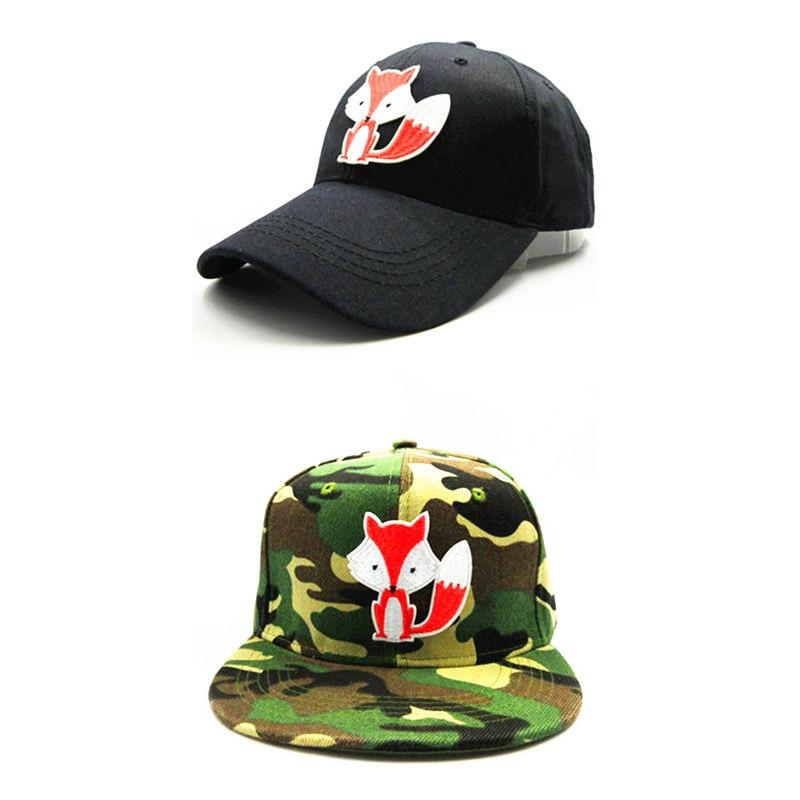 9a33bd15d34 LDSLYJR 2018 Cartoon Fox embroidery cotton Baseball Cap hip-hop cap  Adjustable Snapback Hats for kids and adult size 125