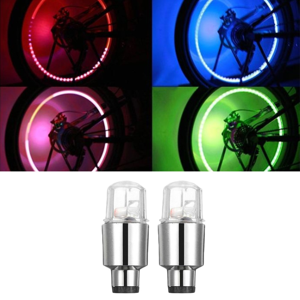 2019 New Arroval Auto Accessories Bike Supplies Neon Blue Strobe Led Tire Valve Caps Lights With Motion Sensors High Quality Materials Electric Vehicle Parts Automobiles & Motorcycles