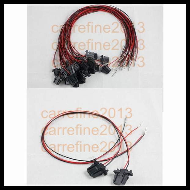 compare prices on jetta door wiring harness online shopping buy 2pcs wire harness extension cable for led door warning light for vw golf jetta cc tiguan