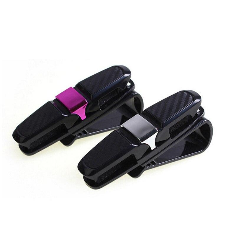 1pcs Car Sun Visor Clip Glasses Mini Clip Sun shading Board Folder Note Paper Ticket Storage