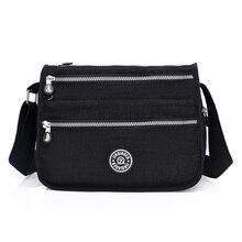 811805c281cc Новинки для женщин Курьерские сумки нейлон женская сумка через плечо сумки  модные дамы Сумки Школьные Сумки