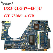 Original UX302LG for ASUS Laptop Motherboard UX302LG rev2.0 Mainboard ZenBook i7-4500u CPU GeForce GT730M 4G memory 100% tested