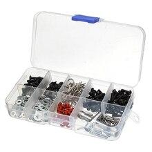 270 in 1 Set Screws Box Repair Tool Kit For 1/10 HSP RC Car DIY Accessories Cars Box Assortment Styling Model Part