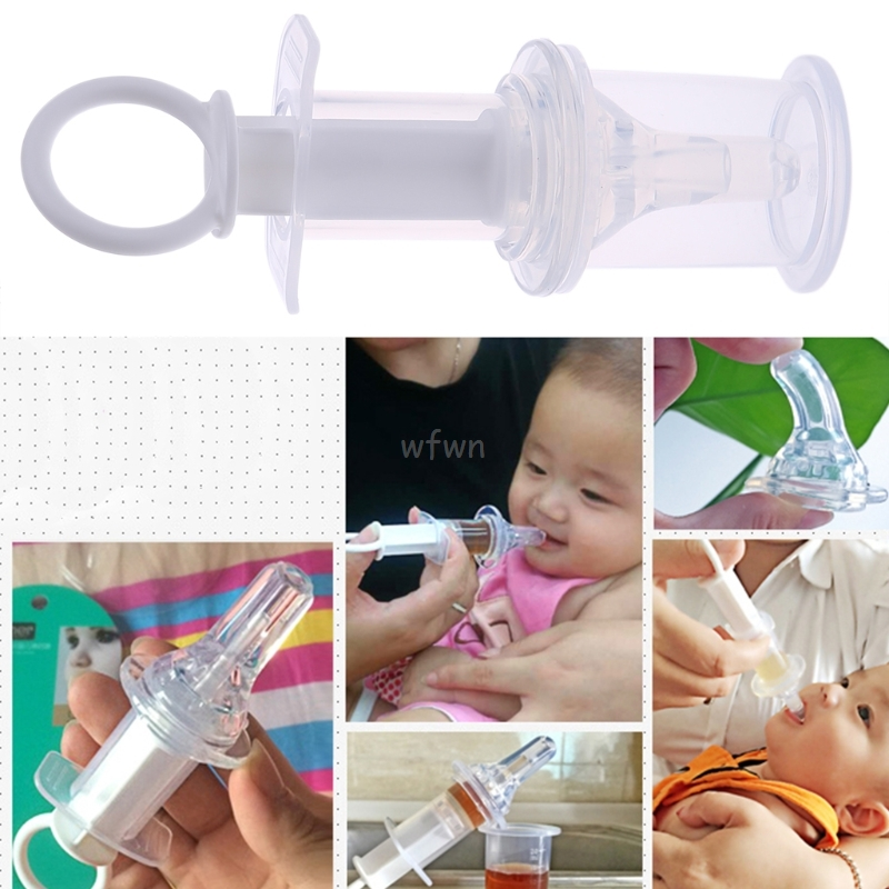 Baby Needle Feeder Squeeze Medicine Dropper Dispenser Pacifier Feeding Utensils MAY15 Dropshipping