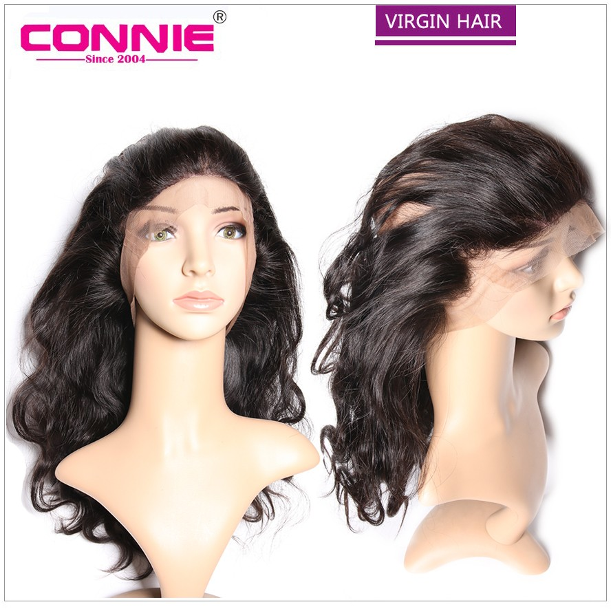 360 Lace Frontal Closure 7A Brazilian Body Wave With Bundles Full Lace Frontals With Baby Hair 360 Lace Virgin Hair Piece