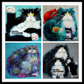 2015 Needlework Square Embroidery Diy Diamond Painting for Cat 30*30cm Drill Rhinestone Full Pasted Pattern Decoration Paintings