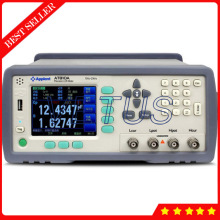 Cheaper AT810A 1~99times 10Hz-20kHz china highlight color LCD screen smart LCR meter