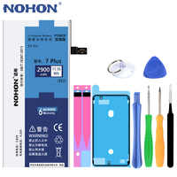 NOHON For Apple iPhone 7 8 6 6S Plus 7Plus 8Plus 6Plus 6SPlus Replacement Battery High Capacity Lithium Polymer Bateria +Tools