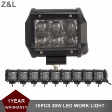 10x 30W OFFROAD LED WORK LIGHT 12V 24V HEADLIGHT CAR TRUCK TRAILER WAGON BOAT PICKUP MOTORCYCLE CAAMPER 4X4 4WD DRIVING FOG LAMP
