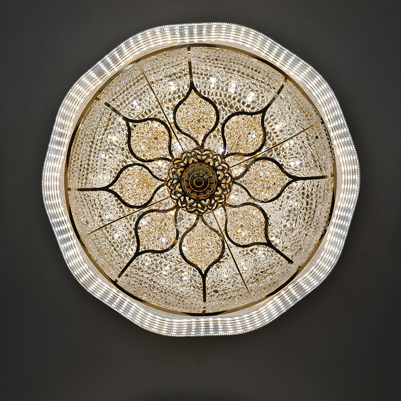 Ceiling light LED Lights PC ABS Modern Round Bread Design Bedroom Dining room Restaurant Foyer AC110-220V Acrylic Draw