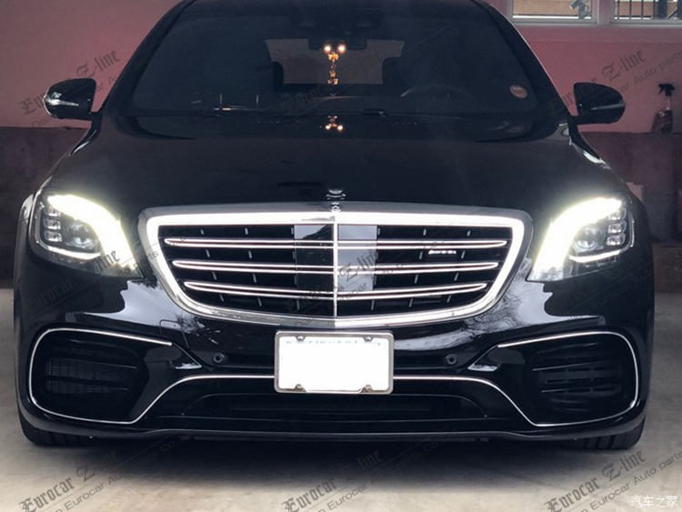 Pp S Class W222 Body Kit For W222 2017y S63 2018 Body Kits Front