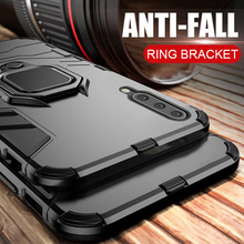 Case For xiaomi mi 9 case Armor Ring Magnetic Car Hold Shockproof Soft Bumper Protection Phone Cover Mi9