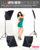 LED for small photo studio, photo lamp set, fill light, photo shoot, light softbox, simple assemble CD15