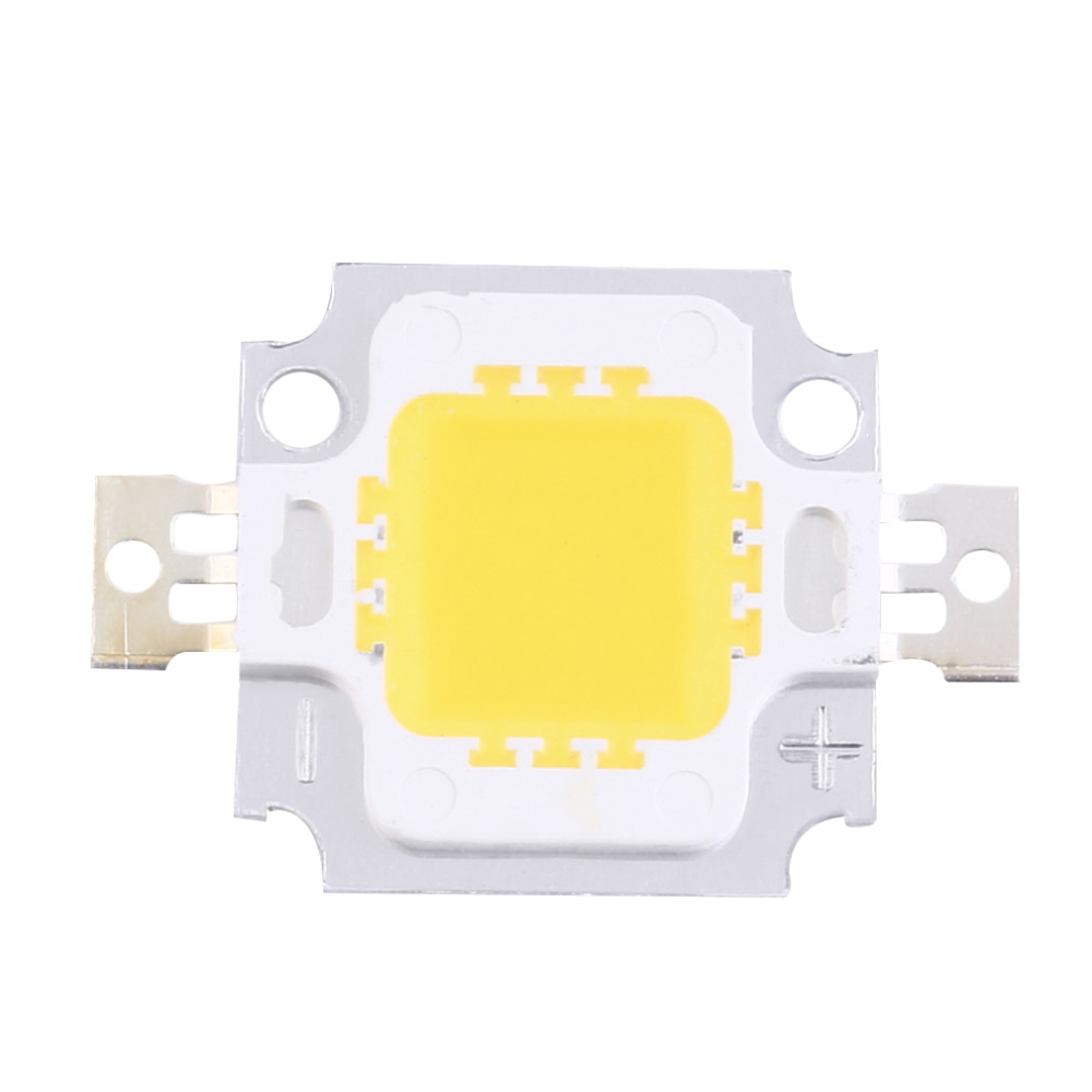 1 Pcs 10W High Power Integrated LED Lamp Beads Chips SMD Bulb Warm White For DIY Flood Light Spotlight