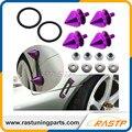 RASTP-Nuevo! Sujetadores Fender Lavadora Parachoques de aluminio Cierres Rápidos Pinchos Forma RS-QRF015