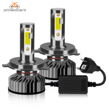 AOTOMONARCH H4 LED H7 Car Lights Bulbs H3 H8 H9 H11 881 9005 LED H1 9006 Car Headlight Lights For Auto Universal 12V AE(China)