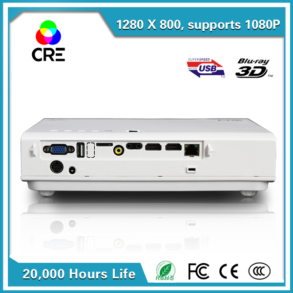 HD support <font><b>4K</b></font> chip Proyector 1080P Digital Portable Home Theater Android Quad core Shuttle 3D Dual band wifi DLP <font><b>projector</b></font>