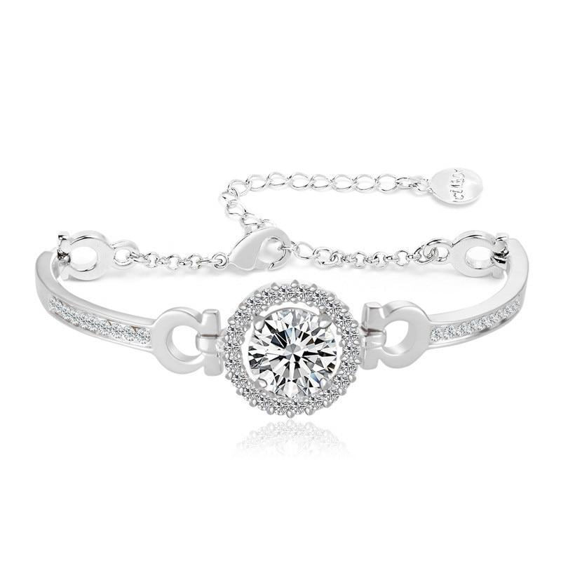 ③Micro вставить браслеты и браслеты ювелирные сердца и ...