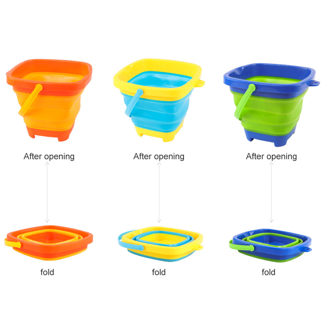 Portable Multifunctional Beach Bucket 2.5L Toy For Kids Summer Party Playing High Quality Holiday Party Game Toys Product Toys