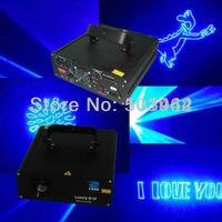 Comercio al por mayor de alta potencia azul 1000 mw animación ILDA dmx 512 i controlador Láser DJ parte etapa de luz láser discoteca club