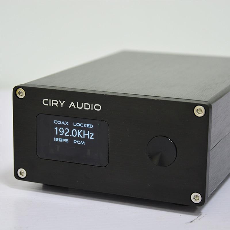 Ciry Audio T4 Ak4118 Decoder Hifi Usb Dac Bluetoothr Verstärker Pcm1794a Xmos Dac Audio Amp Koaxial Optische Stabile Konstruktion Digital-analog-wandler