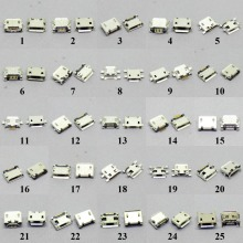 25 models Micro usb connector Very common charging port for Lenovo Huawei ZTE and other brand mobile,tablet GPS