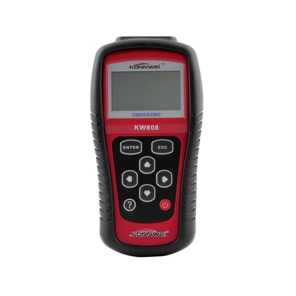 Горячая продажа MS509/KW808 OBDII/EOBD автоматический считыватель кода Autel Maxiscan сканер работает для автомобилей США/Азии/Европы
