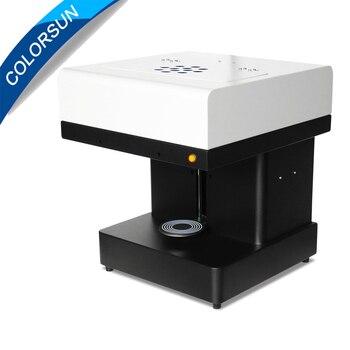 Colorsun DIY design coffee printer art design beverage biscuit cream cake cookies food chocolate coffee printer/ latte printer