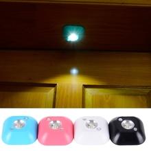 Mini LED Night Light Motion Sensor Light Smart Human Body Induction Nightlight Battery Powered Closet Cabinet Toilet Lamps Light