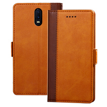 For OPPO R17 Flip 6.4 inch Wallet Leather Cover Case With Stand And Card Holder