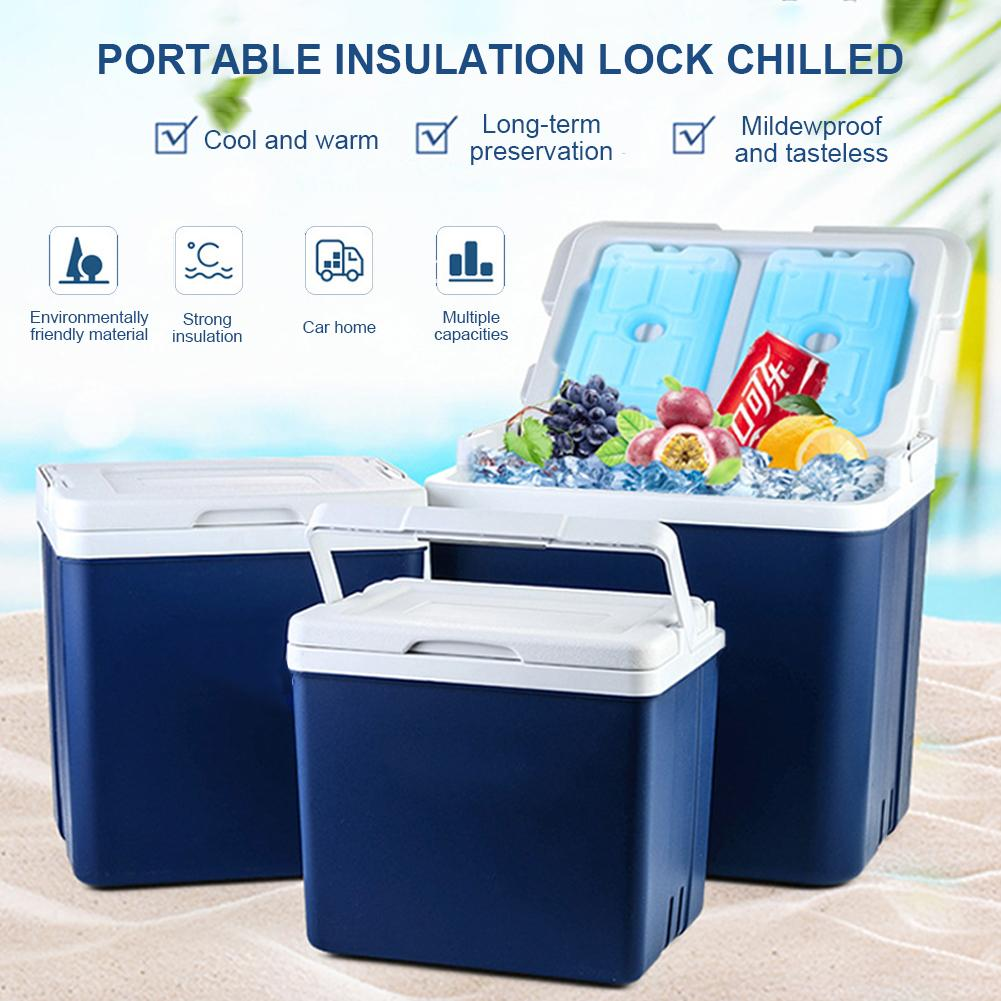 Car Refrigerator Cosmetics Portable Fishing-Storage-Box Small Outdoor 10L Home Incubator title=