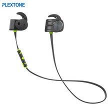 PLEXTONE BX338 Bilateral Magnetic Bluetooth 4.1 Earphone IPX5 Waterproof Shark Fin Sport Running Ear